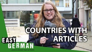 Countries with Articles | Super Easy German (54)