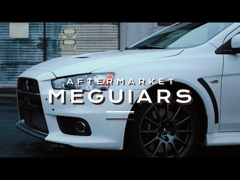 New Car Detailing Tips From Meguiar's