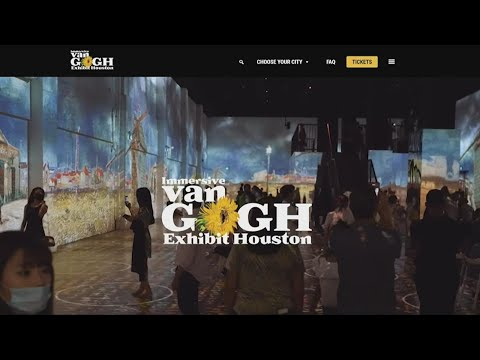 Two different Van Gogh immersive exhibits are coming to Houston