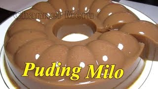 Resep Puding Milo