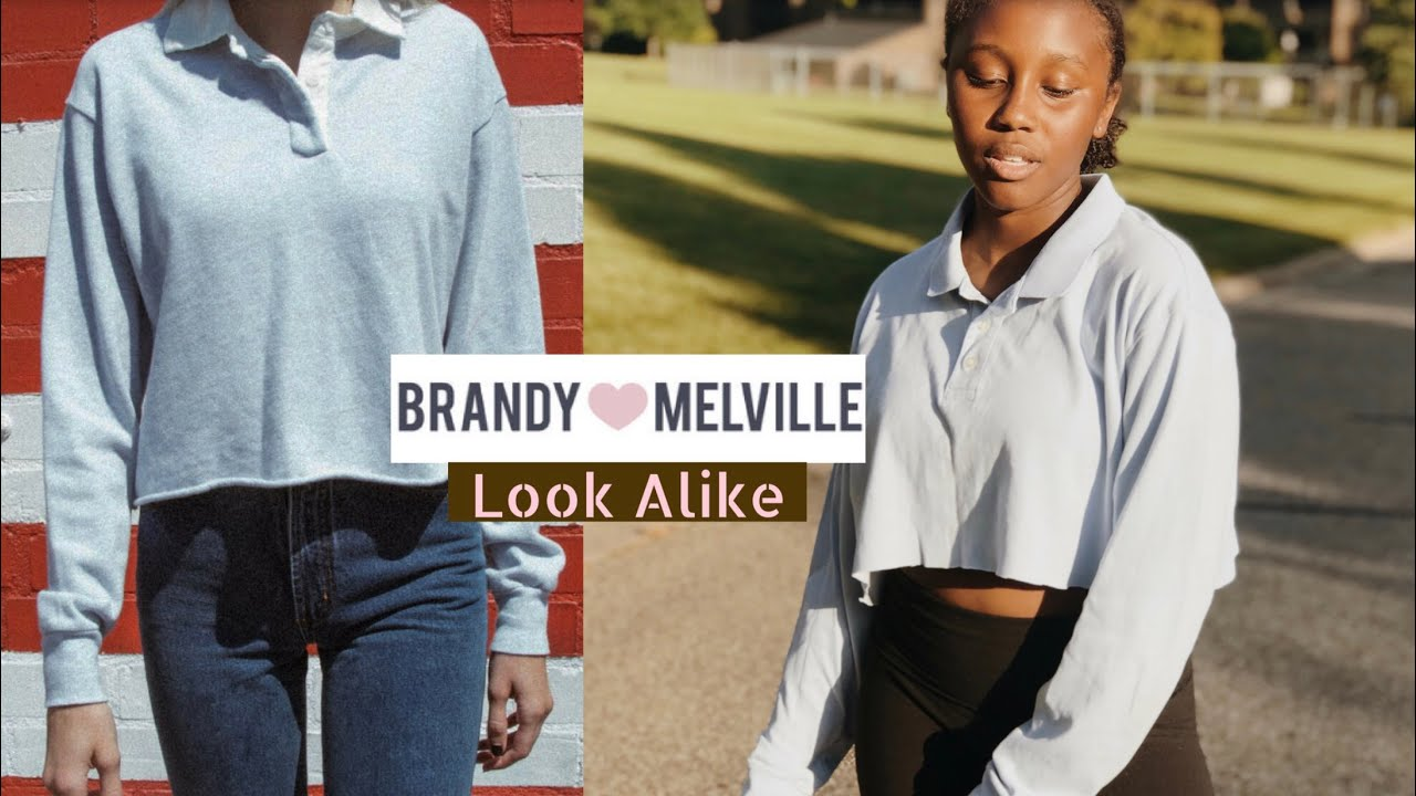 5f1a3b2c38b0 How To Turn Thrifted Clothes Into Brandy Melville Look Alikes - YouTube