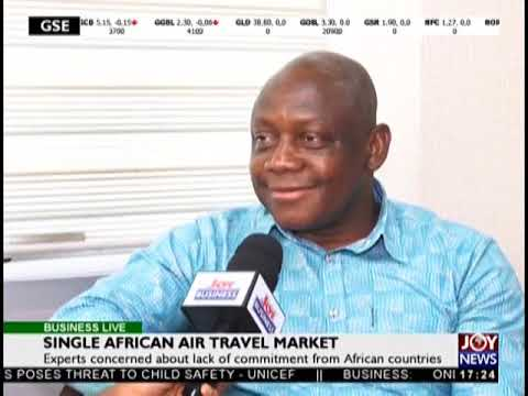 Single African Air Travel Market - Business Live on JoyNews (30-10-18)