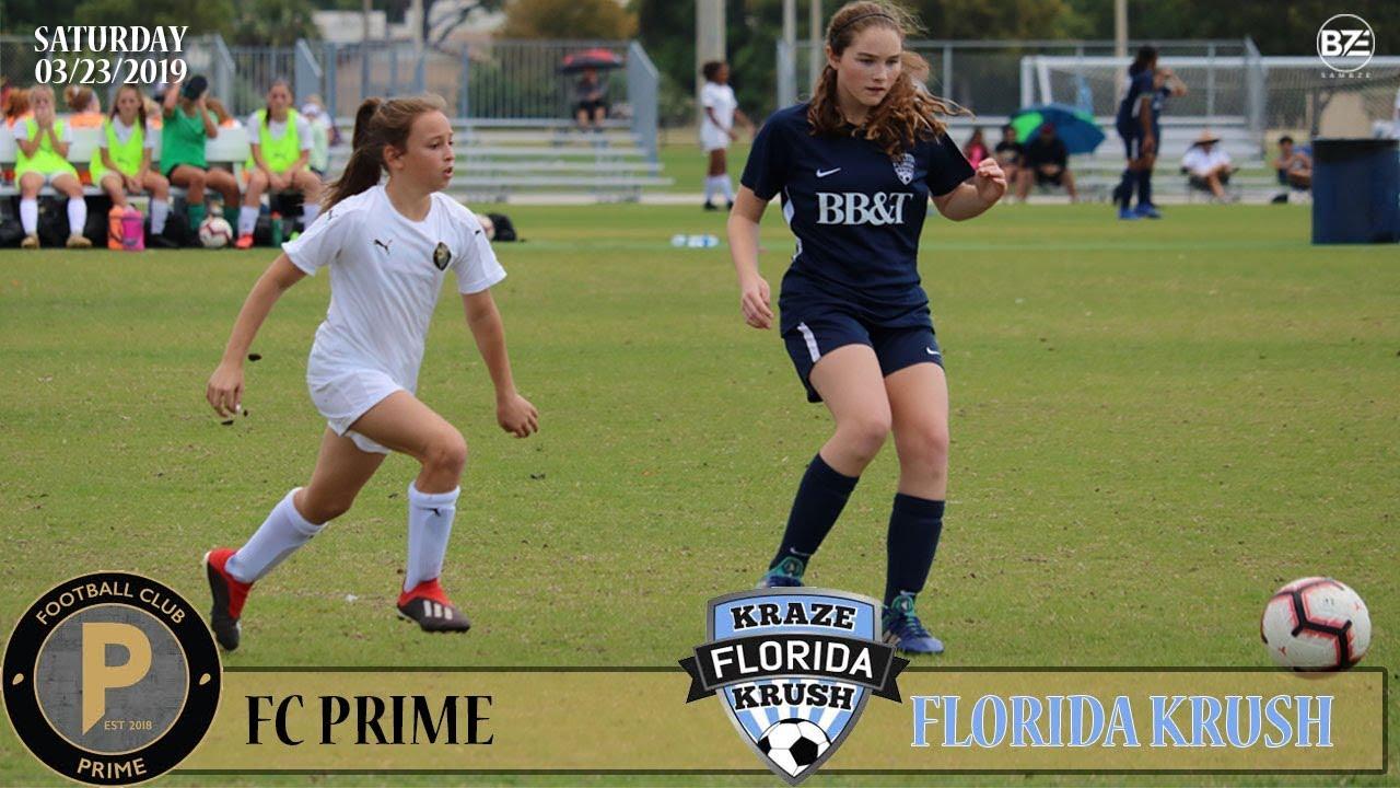 Florida Club Prime vs Florida Krush