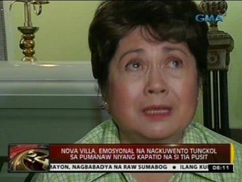 24 Oras: Nova Villa, emosyonal na nagkuwento tungkol kay Tia Pusit
