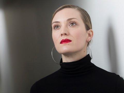 Montreal actress Eveline Brochu speaks with Brendan Kelly