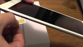 видео Как вставить симку в iPad / iPad 2 / The New iPad (3)?