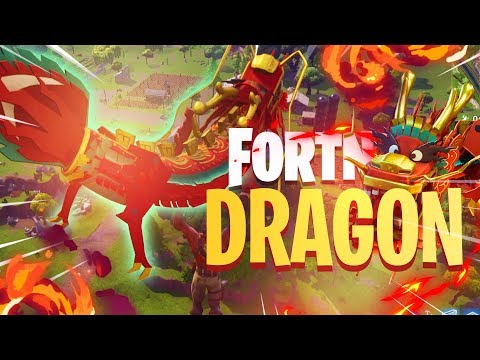LEGENDARY DRAGON GAMEPLAY *It's Expensive* - Fortnite: Battle Royale