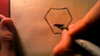 How to draw a lion cool symbol
