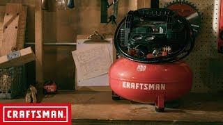 CRAFTSMAN 6 Gallon Air Compressor | Tool Overview