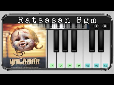 Raatchasan Bgm Piano | Ratchasan Movie | Tamil Piano