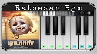 Raatchasan Bgm Piano | Ratchasan Movie | Tamil Piano