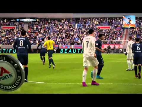 FIFA 16 Paris SG - Real Madrid (Match Exhibition)