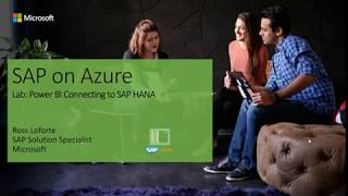 PowerBI Connectivity to SAP HANA Lab