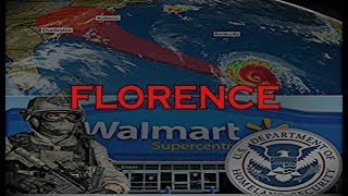 Hurricane Florence is Geo-Engineered FEMA is Ready MARTIAL LAW