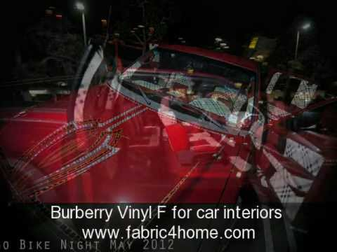 Burberry Fabric And Burberry Vinyl Youtube