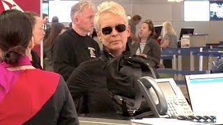 Jamie Lee Curtis At LAX As Halloween Smashes The Box Office
