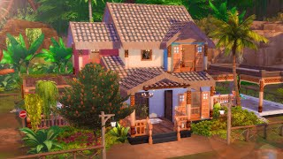 RANDOM PACK BUILD CHALLENGE // The Sims 4: House Build w/@Risshella