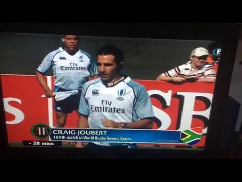 Are You Serious?!? Craig Joubert Refereeing Scotland in Dubai Rugby Sevens :P