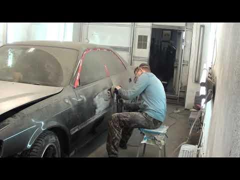 Кузовной ремонт Toyota Chaser. Полировка или попадос
