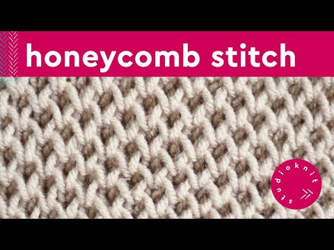 Honeycomb Brioche Knit Stitch Pattern Youtube