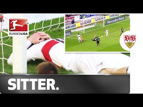 Oh Dear! Stuttgart's Timo Werner Misses Golden Chance