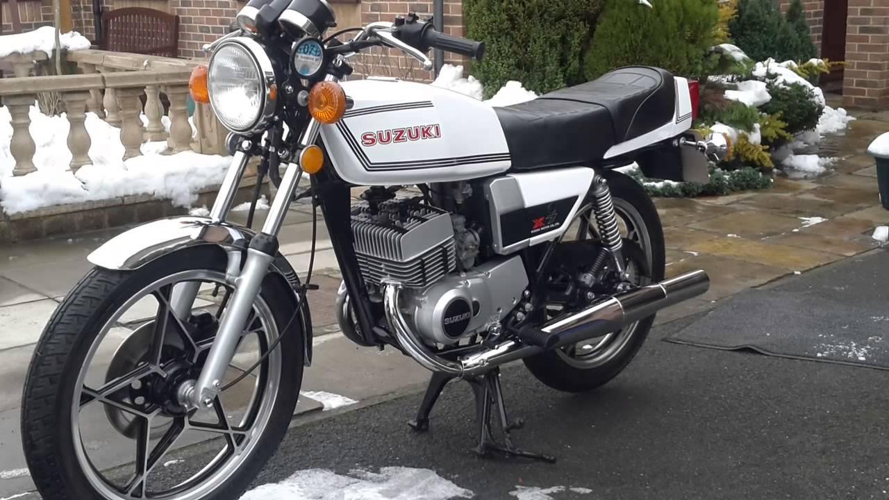 1979 Suzuki x7 - YouTube