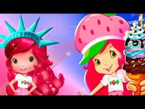Шарлотта Земляничка Любимые Игры с Земляничкой.Красивые Прически и Вкусное Мороженого.Мульт Игра