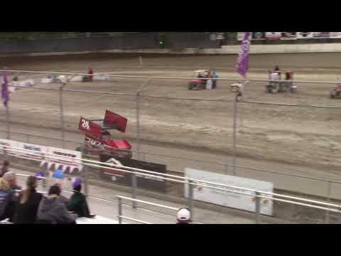 Deming Speedway WA - Micro 600R Qualifying (Ben Ferrara) - August 24, 2018