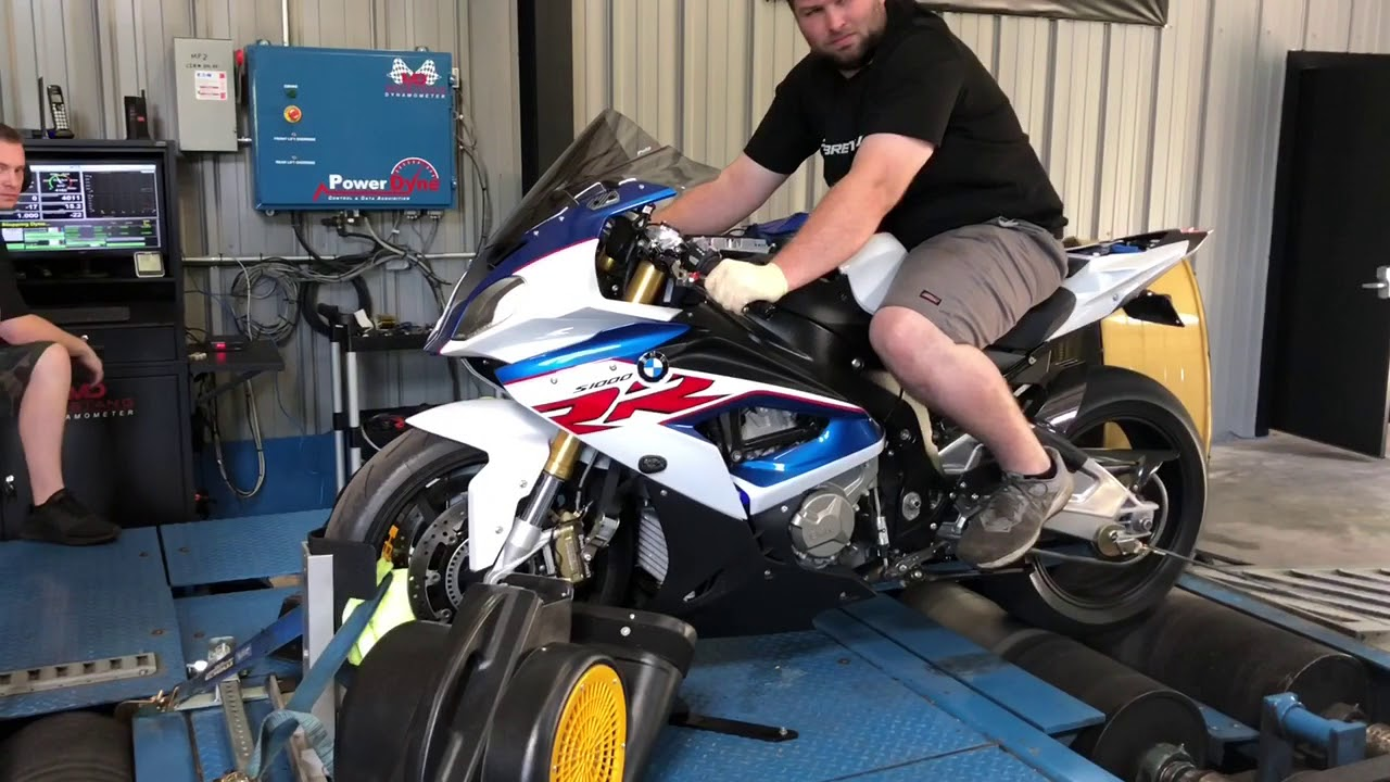2018 bmw s1000rr gets Dyno tuned by : Brentune - YouTube