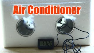 How To Make Mini Air Conditioner at Home Easy Life Hacks and Cheap