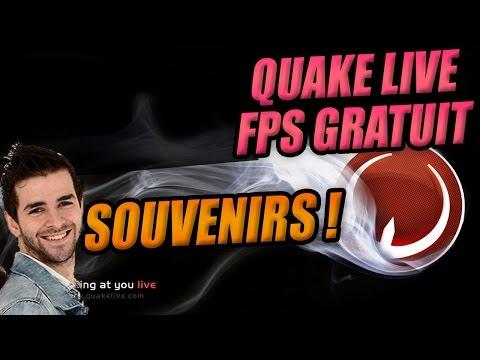 "QUAKE LIVE ♦ Gameplay SKyyart ♦ Un jeu très ""speed"" & skillé ♦ FPS GRATUIT sur Steam ! Fr"