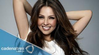 Thalía confesó haber sufrido algunos abortos