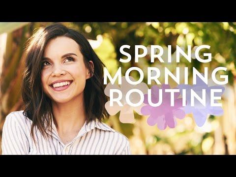 GRWM: Spring Morning! Skincare, Makeup + Outfit! | Ingrid Nilsen