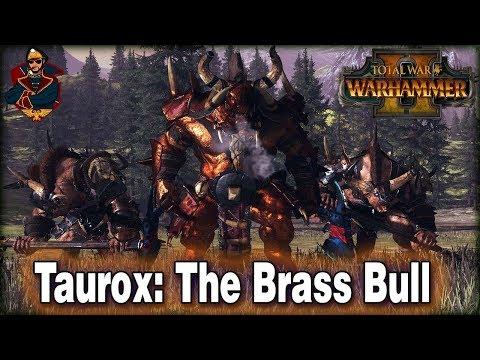 Taurox: The Brass Bull (New Legendary Lord)  | Total War: Warhammer 2 Mod (Mixu's Legendary Lords)