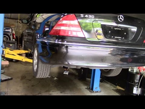Mercedes Benz W220 S430 Покупка и Смотр
