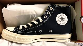Converse unboxing — onfeet