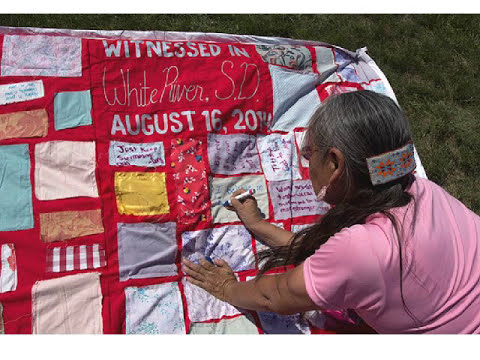 The Monument Quilt: Creating a public culture of support for survivors of DV & SA