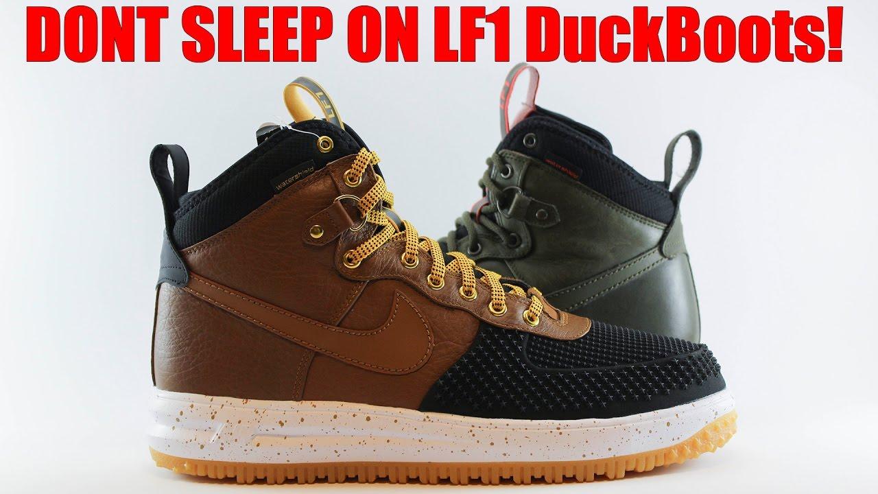 Nouveaux produits 739d6 c397a Stop Sleeping on the Lunar Force 1 Duckboots! On foot + 1 Year Wear Test