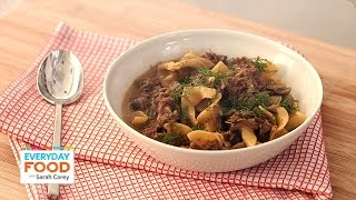 One-pot Beef Stroganoff - Everyday Food With Sarah Carey