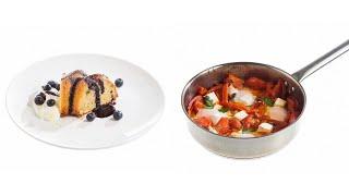 Шакшука и миндальный кекс: большой семейный завтрак от Ольги Морозенко