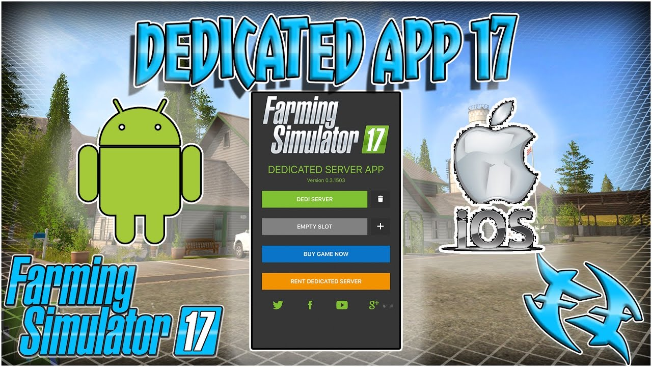 Farming Simulator 17 - Dedi App 17 - Review and configure