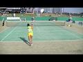 2016アジア選手権 女子シングルス/決勝