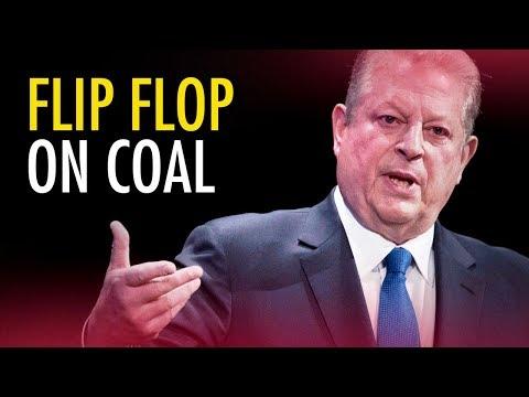 Al Gore flip-flops on Coal   Marc Morano