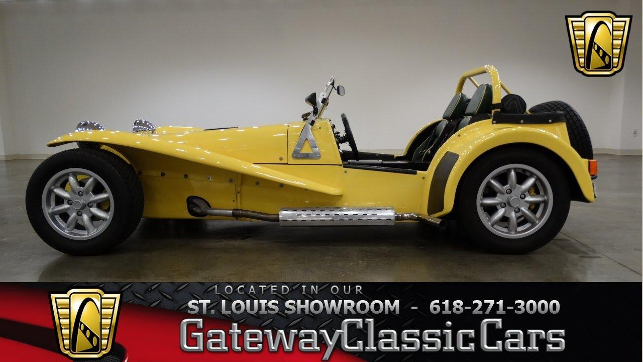1967 Lotus Super 7 Series 3 - Gateway Classic Cars St. Lous ...