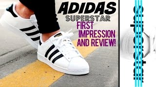 ADIDAS SUPERSTAR SHOES REVIEW!!!