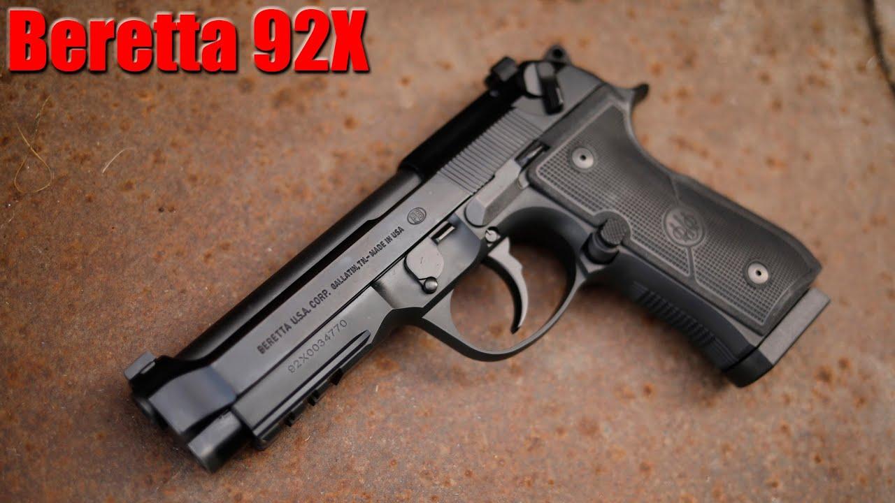Beretta 92X FR First Shots & Impressions