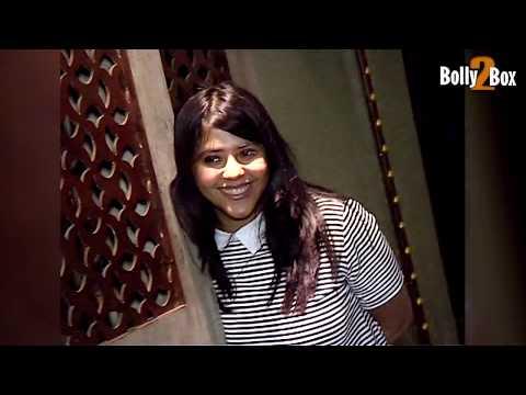 Ekta Kapoor Oops Moment at Her Birthday Bash