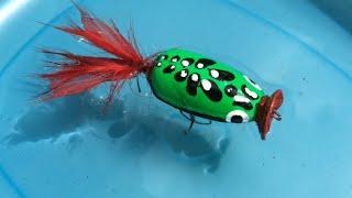 How to Make Frog Lure From Plastic Spoons(1) Diy Fishing Tips - Làm Ếch Lure Từ Thìa Nhựa
