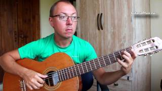 Чёрный ворон (на гитаре) | Александр Фефелов