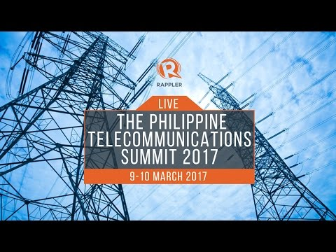 LIVE: The Philippine Telecommunications Summit 2017, Day 1